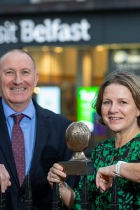 Visit Belfast's state-of-the-art visitor information centre has been voted the best in Northern Ireland
