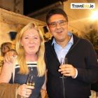 Kathryn MacDonnell (Travel Trade Manager Spanish Tourist Office) and Ruben Lopez (Director Spanish Tourist Office Ireland)