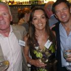 Des Abbott (Des Abbott Travel) with Tanya and Philip Airey (Sunway Holidays)
