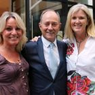 Connie Georgiou (Silversea), Tony Collins (Topflight) and Mary McKenna (Tour America).