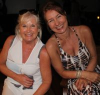 Jacinta Mc Glynn (Travelbiz) and Helen Hendley (Sunway)