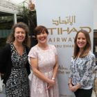 Jane Dawkin (Abu Dhabi Culture & Tourism Authority) Beatrice Cosgrove (Etihad Ireland) and Fiona Clarke (Abu Dhabi TB)