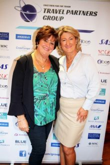 Marie McCarthy (Irish Ferries) and Olwen Mc Kinney (Amadeus Ireland)