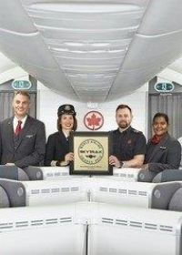 Air Canada win for 3rd straight year