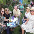 The Deck chair fans....Caroline Quigley and Debbie Murray (Keith Prowse Travel), Richard Cullen (Killiney Travel), Elaine Massey (Killiney Travel) and Carol Anne O'Neill (Worldchoice Ireland)