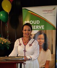 Meseret Tekalign (Country Manager Ethiopian Airlines Ireland)
