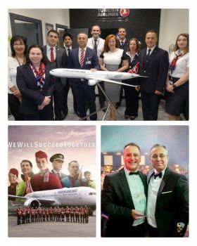 Turkish Airlines Dublin team announce A330 wide bodied flights to Istanbul.