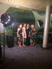 Irene Smith, Claire Murphy and Ruth Polion with Antoinette Young (All TUI Ireland)
