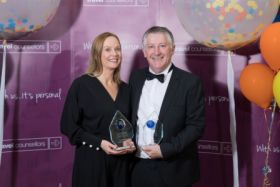 Award winning Travel Counsellors Emer McDermott and Gearoid Mannion