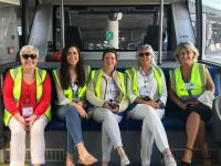 AWTE Ireland members went airside at Dublin Airport for a special 'Behind the Scenes' event