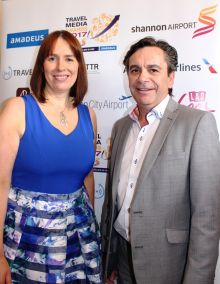 Declan Power and Isabel Harrison (both Shannon Airport)