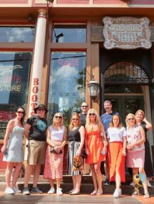 AA Fam Group at Wild Bill's Cowboy Store in Dallas