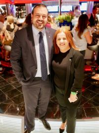 Antonio Paradiso and Rebecca Kelly (MSC Cruises)