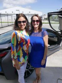 Judith Patron-Fernandez (Director Travel Industry Sales Europe Miami CVB) and Jenny Rafter (Head of Business Development Leisure Sales Aer Lingus)