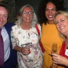 Tom Britton (Marble City Travel), Bernie Burke (Travel Centres), Ciara Mooney (Freedom Travel) and Roisin Carberry (Tropical Sky)