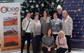 OBEO Namibia Fam in Dublin Airport.