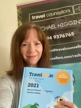 Rachael Higgins (Travel Counsellors) loves her all new Travelbiz Desktop 2021 Diary