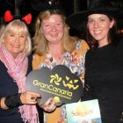 The Witches of Eastwick! Jacinta Mc Glynn (Travelbiz) Kathryn MacDonnell (Spanish Tourist Office Dublin) and Marie-Claire Porter (Sunway)