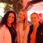 Beverleigh Fly (Bookabed) with Holly Best (Virgin Atlantic) and Roisin Carberry (Tropical Sly)