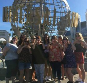 Dosomethingdifferent staff on a trip of a lifetime to Los Angeles and San Diego!