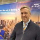 Brian Hughes (United Airlines) at Holiday Show Limerick