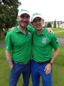 Dermot Merrigan (Irish Ferries) and Philip Airey (Sunway Holidays).