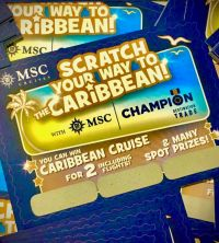 Scratch your way to the Caribbean with MSC Cruises!