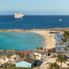 Norwegian Cruise Line, opened their private island, Great Stirrup Cay for Divina