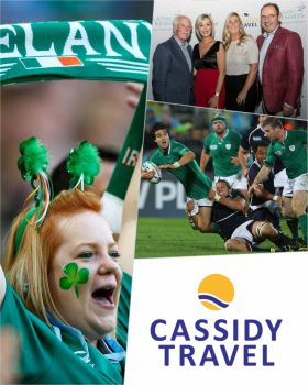 Cassidy Travel appointed as an official authorised sub-agent for the 2023 Rugby World Cup in France, has this week launched a priority reservation programme