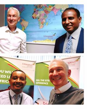 Ethiopian Airlines appointed Mr Desta Demissie their new Traffic & Sales Manager to Ireland, Desta replaces Dagmawi Kefene, who returned to Ethiopia on completion of his placement