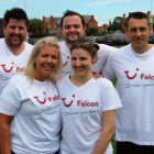 One of the Falcon 5 a side teams