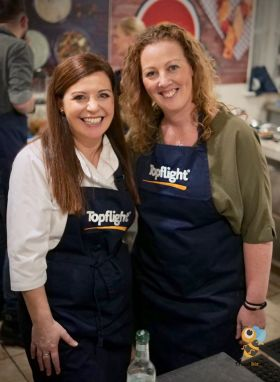 Catherine Fulvio with Shauna Kelly (Topflight)