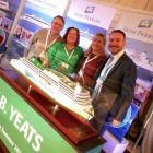 Dermot Merrigan and the team from Irish Ferries welcome Bowe Travel aboard.