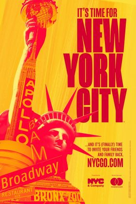 NYC &Company; launch largest ever global tourism recovery campaign - It's time for New York City
