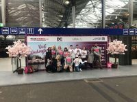 The United, Tour America and DC team at Heuston Station