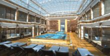 Norwegian Bliss Haven Courtyard