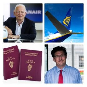 Ryanair welcome the delayed resumption of international travel to/from Ireland from today