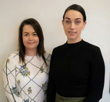 L to R: Sinead Murphy and Emma McHale