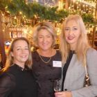 Martina Coogan (United Airlines) with Olwen McKinney (Amadeus) and Tryphavana Cross (Las Vegas CVB)