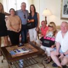 AER Lingus VIP Miami Group at the Biltmore Hotel Miami.
