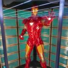 Life sized Iron Man in the Avengers Academy