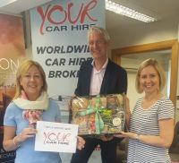 Sonya O'Brien (Hannon Travel), Alan Sparling (GSA Your Car Hire) and Anna Mills (Hannon Travel)