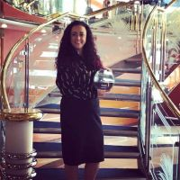 Beverleigh Fly (Bookabed) was in London to collect Booakabed's first UK travel agents vote based award.