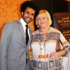 Mo Rahma (Etihad) and Maureen Delmar (MD Travel)