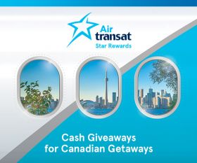 Air Transat Cash Giveaway