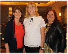Eileen Penrose (Westjet), Cindy Ady (CEO Tourism Calgary) and Aileen Eglington (AE Consulting)