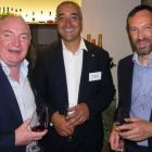 David O'Grady (eTravel), Dave Hayeems (Trailfinders) and Bepi Gaidoni (BCD Travel)