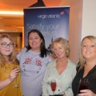 The Cassidy Travel  Team enjoying the Virgin Atlantic Champagne.