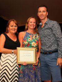 Cathy Burke, Emer McDermott and Jim Eastwood (Travel Counsellors)