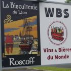 No stop in Roscoff is complete without a visit to the WBS! The wine beer supermarket offers unbelievable value with an unbeatable range of wines from all over the world